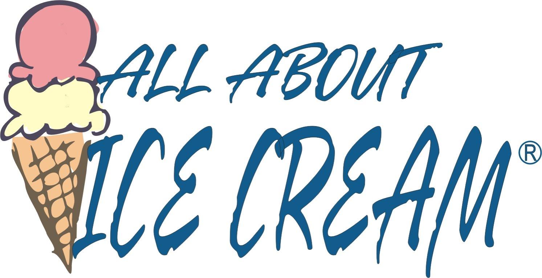 All About Ice Cream&#1... Vanilla Bean Ice Cream Cone